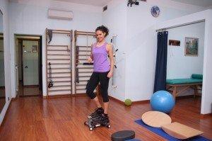Ginástica com stepper,step, exercícios para perna,joelho