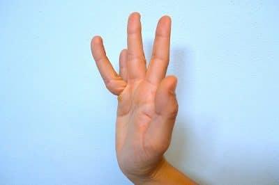 Dor nos dedos