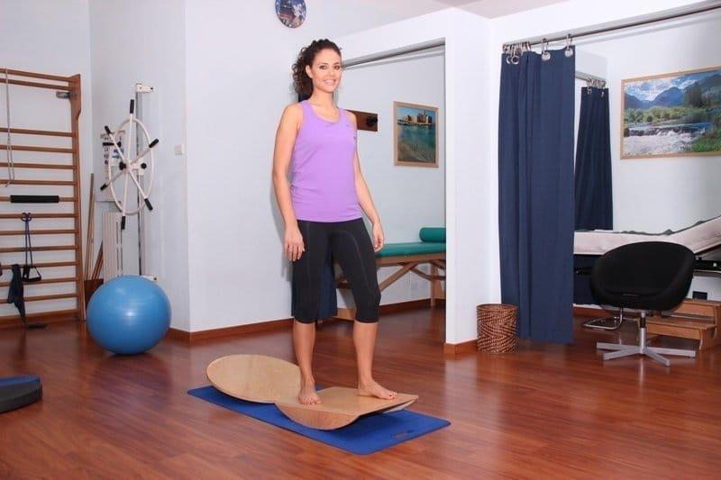 exercícios de reabilitação, proprioceptiva, dor, equilíbrio, recuperação, tempo
