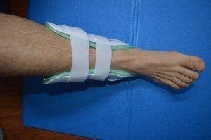 tornozeleira, após a lesão, reabilitação