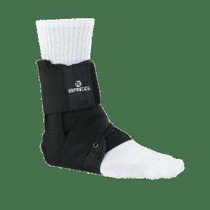 tornozeleira, suporte, estrutural, a dor, o bloqueio, o movimento, o pé, rotação, flexão, extensão