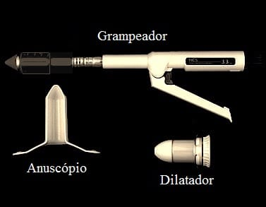 kit,pph,dilatador,grampeador,anuscópio