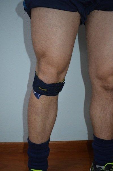 Faixa,fasceta, abaixo, patelar, joelho, tíbia, Osgood Schlatter