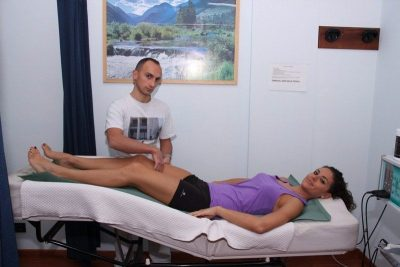 Tratamento para a dor nos músculos das pernas
