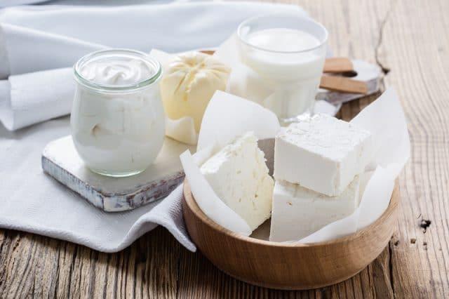 Produtos lácteos, queijo, leite, manteiga, creme
