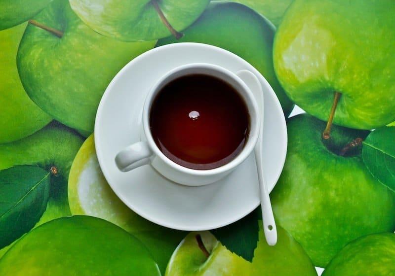 chá preto, magnésio, alimentos