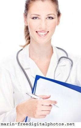 Médico, diagnóstico, doutora