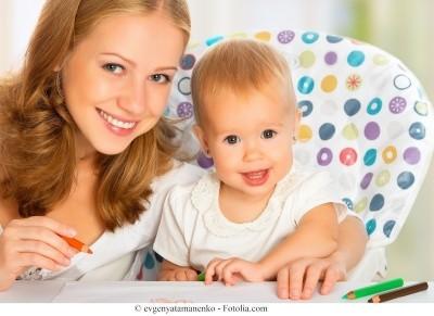 Teste de gravidez,bebê
