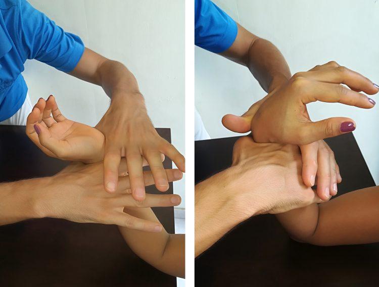 Manipulação-pulso-de-Quervain-Mulligan
