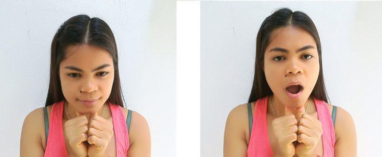 exercício Reforço muscular mandíbula