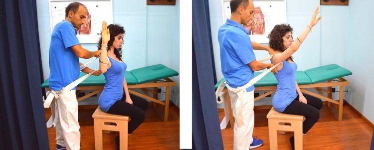 Manipulação instabilidade ombro Mulligan