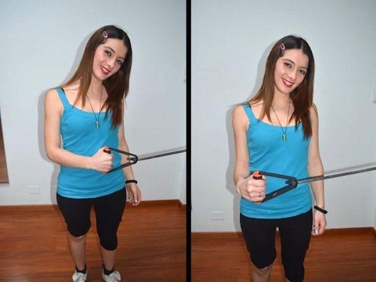 ROTAÇÃO EXTERNA exercício do ombro