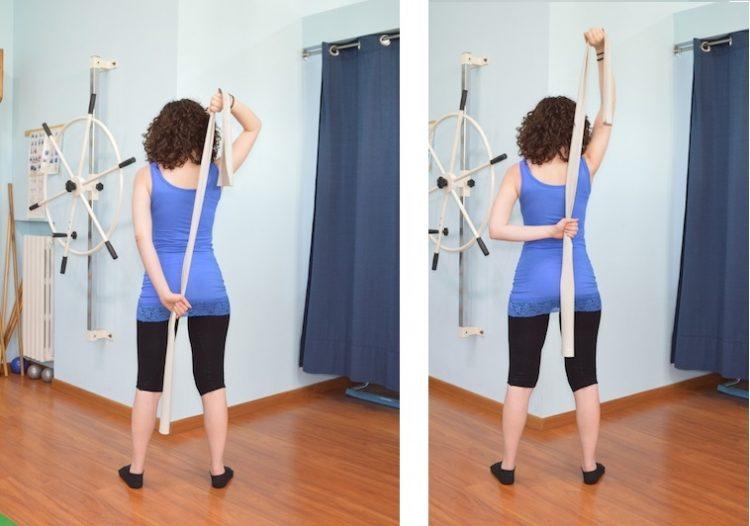 exercício de rotação interna