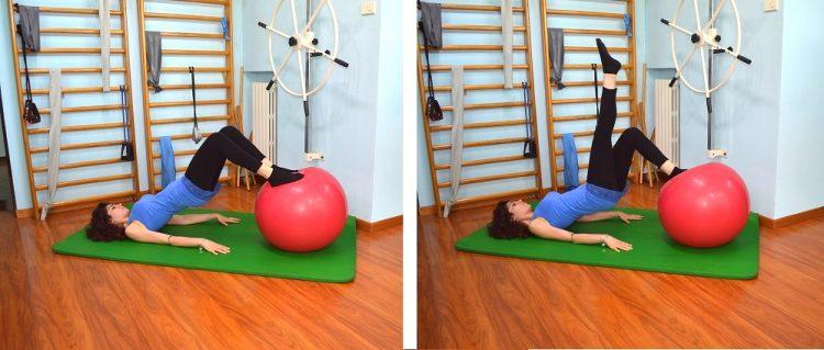 exercícios reforço glúteo, equilíbrio