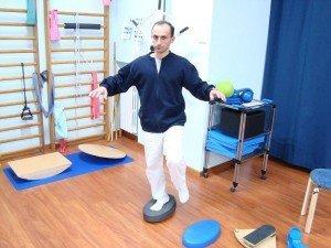 Ejercicios, propioceptiva, pie, fortalecimiento, equilibrio, el aire, los músculos, el movimiento, dolor, daño, control, postura, suave, fisioterapia y rehabilitación, la fisioterapia, la distorsión, la recuperación, el retorno, carreras, juego, deportes, fitness, jugadores de fútbol