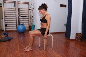 Ejercicio, cervical, movimiento, extensión, estiramiento, bloqueo, muscular, flexión, dolor