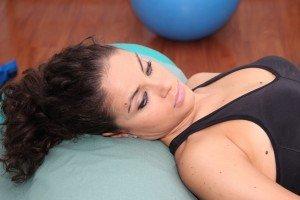 Dolor de cabeza, tensión muscular, el dolor, la cara, el cráneo, la inflamación, la nutrición, la cama, la mentira, relajación, relajarse, respirar, relajante, agradable