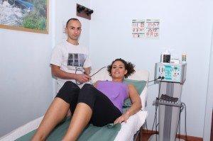 Tecarterapia, hombro, húmero, escápula, clavícula, dolor