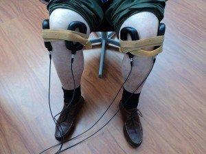 magnetoterapia para las fracturas, dolor de rodilla, hinchazón, edema