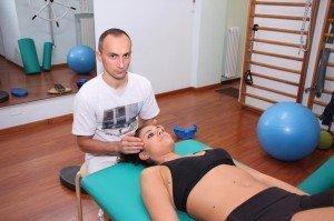 Evaluación articulación esfeno-basilar, cráneo, occipucio, limitación funcional, inflamación, dolor, síntomas
