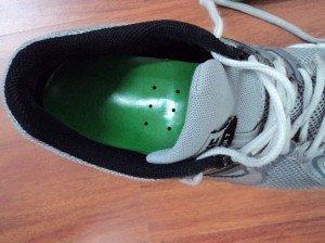 Plantilla en el zapato, dorso,  espalda,  postura, dolor