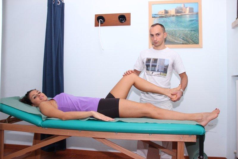 Fractura de rodilla, prueba de movimiento