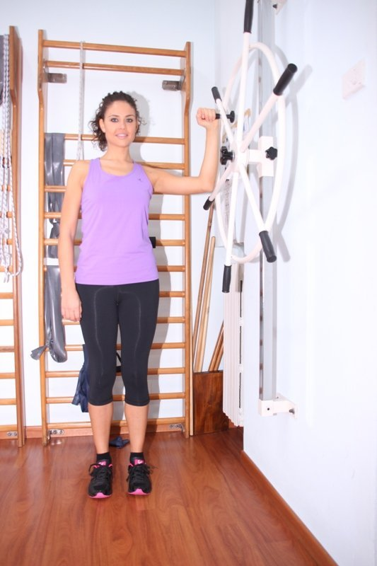 fractura, ejercicios, la rotación, la recuperación, el movimiento, la movilidad, dolor
