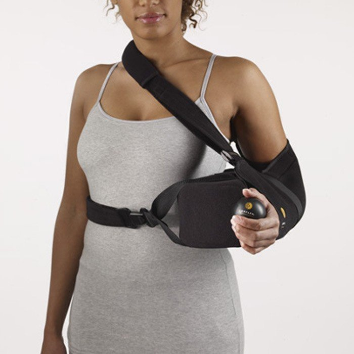 Órtesis en abducción tras la cirugía