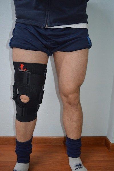 tutor, rodilla, ortosis, parar, limitar, inmovilizar, movimiento, articulación, dolor,