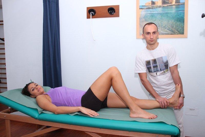 flexión dorsal, fisioterapia pasiva, fisioterapia, rehabilitación, dolor, fractura, pierna, una para