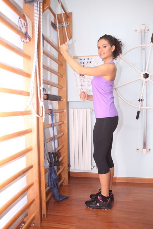 fisioterapia, rehabilitación, fractura, húmero, el hombro, el dolor, el movimiento, la recuperación