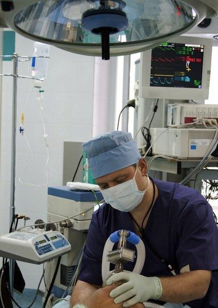 anestesia, médica, inhalación, gas, nervio, dormir