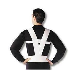 espalda, hombros, tutor, soporte, correa, cinturón, dolor, postura