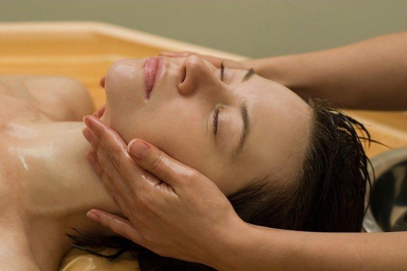 masaje, la migraña, la relajación, ayurvédico, dolor, dolor de cabeza, la cabeza
