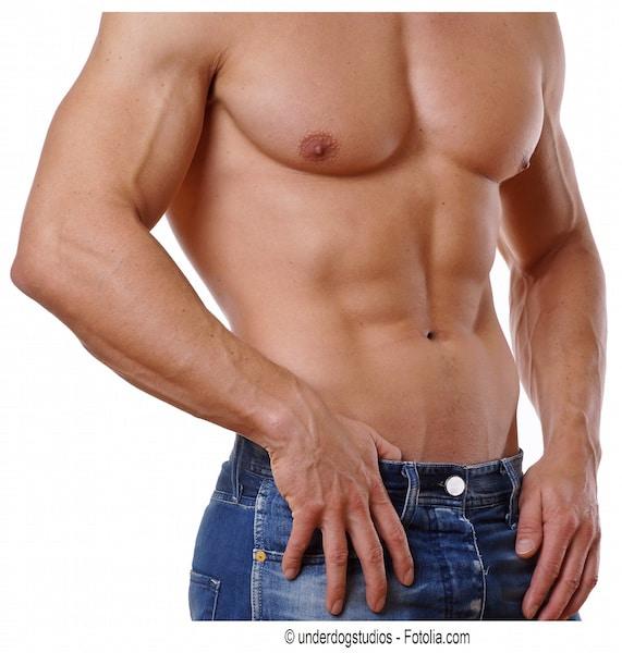 hombre ,abdominal
