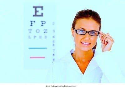 Pérdida de la visión, examen, oftalmólogo, evaluación