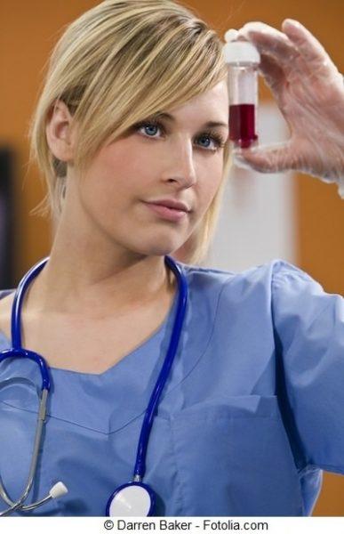 Diagnóstico de sangre en la orina, análisis de sangre