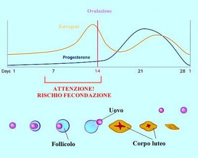Cálculo de los días de la ovulación