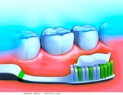 Dientes, pasta de dientes, cepillo de dientes