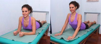 Extensión de la espalda
