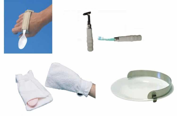 instrumentos de ayuda, enfermedad de Parkinson