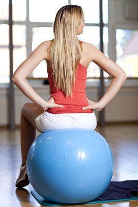 Fitball, ejercicios, Mckenzie, gimnasio, lumbar, lumbar, cervical, dolor.