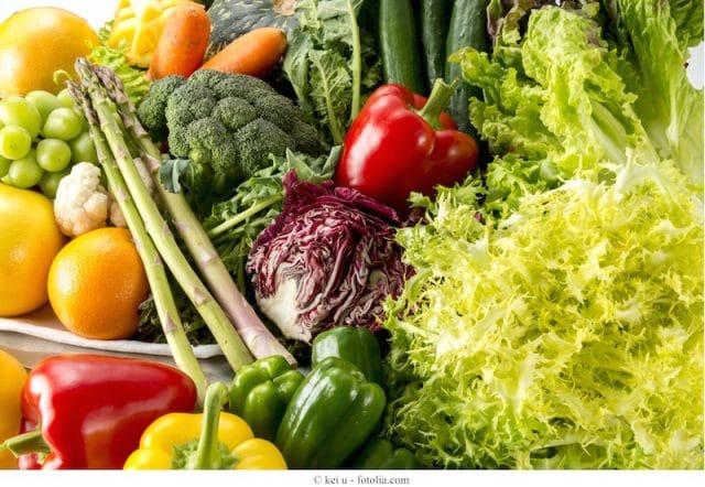dieta saludable, fruta, verdura