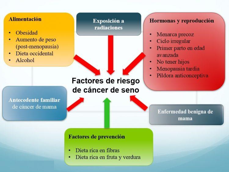 factores de riesgo, cáncer de seno